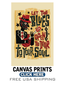 Blues Art, Gifts and Prints