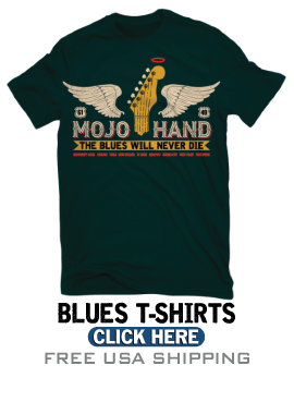 Blues T-Shirts and Blues Gifts