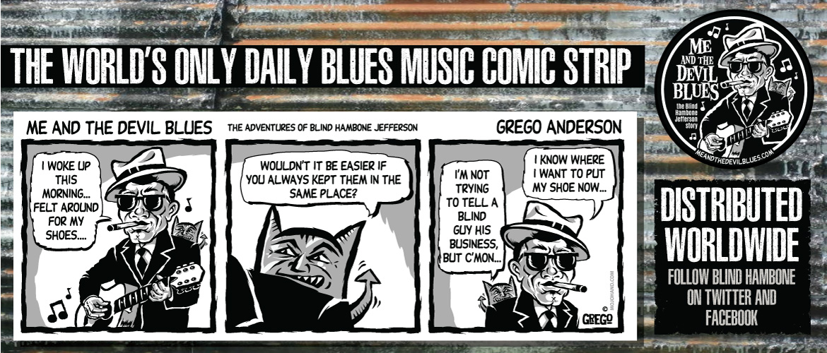 blues comic strip